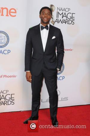 Chadwick Boseman - A host of stars were photographed on arrival to the 46th NAACP Image Awards which were presented...