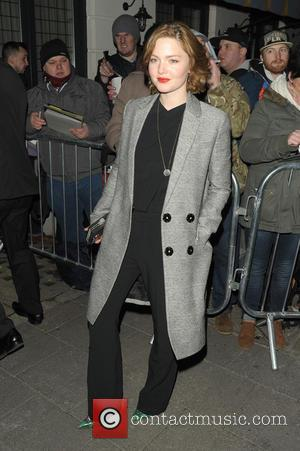 Holliday Grainger - Harvey Weinstein's Pre-BAFTA dinner at Little House, in partnership with Burberry & Grey Goose - London, United...