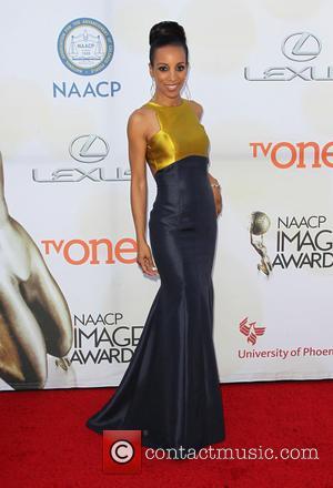 Shaun Robinson - THE 46th NAACP Image Awards at Pasadena Civic Auditorium - Pasadena, California, United States - Friday 6th...