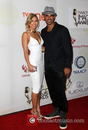 Shemar Moore and Shawna Gordon - THE 46th NAACP Image Awards at Pasadena Civic Auditorium - Pasadena, California, United States...
