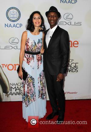 Aloe Blacc and Maya Jupiter - THE 46th NAACP Image Awards at Pasadena Civic Auditorium - Pasadena, California, United States...
