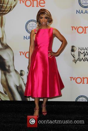 Elise Neal - The 46th NAACP Image Awards - Press Room at Pasadena Civic Auditorium - Pasadena, California, United States...