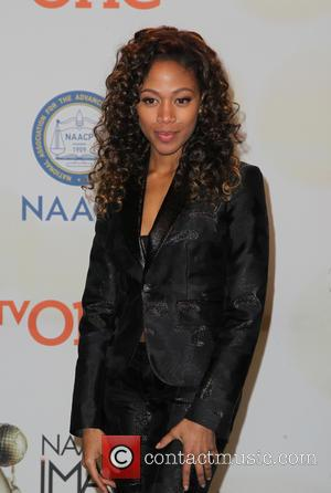 Nicole Beharie - The 46th NAACP Image Awards - Press Room at Pasadena Civic Auditorium - Pasadena, California, United States...