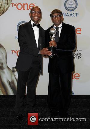 Spike Lee and Cornell William Brooks - The 46th NAACP Image Awards - Press Room at Pasadena Civic Auditorium -...