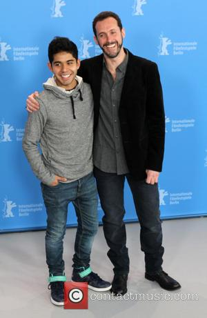 Actor Kristyan Ferrer and Gabriel Ripstein - 65th Berlin International Film Festival (Berlinale) - '600 Millas' - Photocall at Berlinale...
