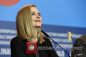 Nicole Kidman - 65th Berlin International Film Festival (Berlinale) - 'Queen of the Desert'- Press Conference - Berlin, Germany -...
