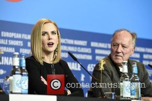 Nicole Kidman and Werner Herzog - 65th Berlin International Film Festival (Berlinale) - 'Queen of the Desert'- Press Conference -...