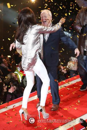 Katie Price and Keith Chegwin - Katie Price wins Celebrity Big Brother