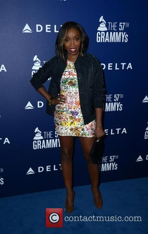Estelle - A host of stars were photographed as they arrived at the Delta Airlines Grammy Pre-Party which saw British...