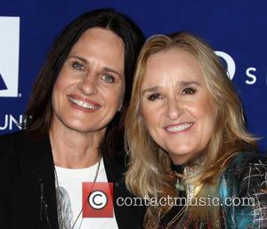 Linda Wallem and Melissa Etheridge
