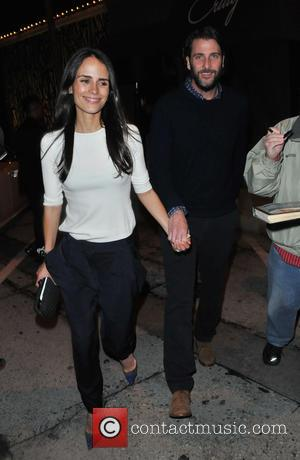 Jordana Brewster and Andrew Form - Jordana Brewster and Andrew Form attend L.A. Reid's pre-Grammy party at Craig's restaurant in...