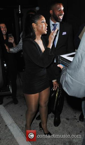 Toni Braxton - Toni Braxton attends L.A. Reid's pre-Grammy party at Craig's restaurant in West Hollywood at WeHo, Grammy -...