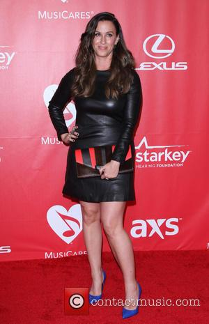 Alanis Morissette - 2015 MusiCares Person Of The Year Gala Honoring Bob Dylan held at the Los Angeles Convention Center...