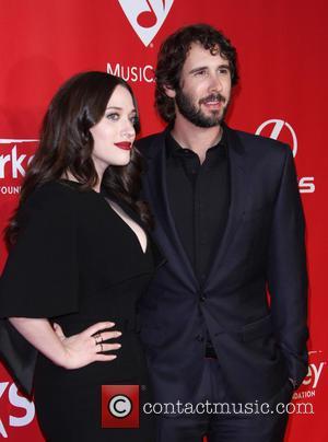 Kat Dennings and Josh Groban - 2015 MusiCares Person Of The Year Gala Honoring Bob Dylan held at the Los...