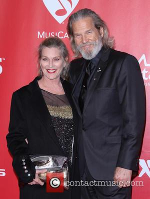 Jeff Bridges and wife Susan Bridges - 2015 MusiCares Person Of The Year Gala Honoring Bob Dylan held at the...