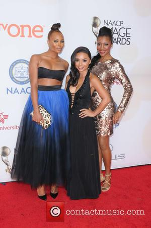 Eva Marcille, Danielle Nicolet and Gabrielle Dennis - 46th NAACP Image Awards presented by TV One at the Pasadena Civic...
