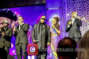 Alvin Chea, David Thomas, Stevie Wonder, Ledisi and Jonathan Butler