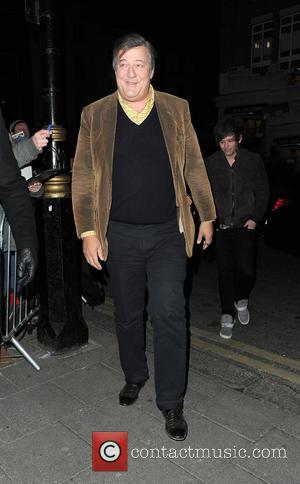 Stephen Fry - Harvey Weinstein's Pre-BAFTA dinner at Little House, in partnership with Burberry & Grey Goose - London, United...