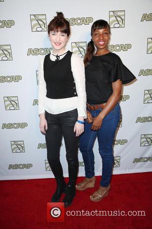 Alana Henderson and Lorraine Barnes - 2015 ASCAP Grammy Nominees Brunch at the SLS Hotel at SLS Hotel, Grammy -...