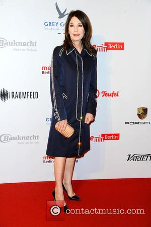 Iris Berben - 65th Berlin International Film Festival (Berlinale) - Medienboard Reception (Empfang) at The Ritz-Carlton, Berlin at Hotel The...