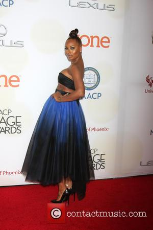 Eva Marcille - The 46th NAACP Image Awards presented by TV One at the Pasadena Civic Center - Arrivals at...