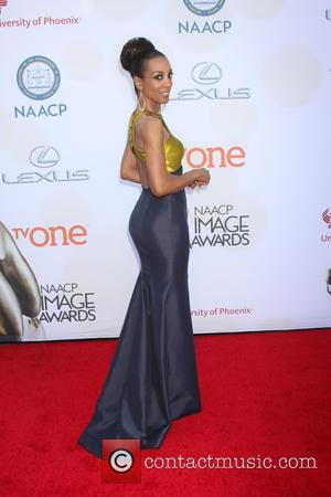 Shaun Robinson - The 46th NAACP Image Awards presented by TV One at the Pasadena Civic Center - Arrivals at...