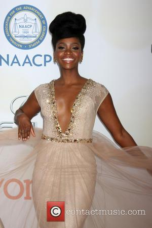 Teyonah Parris - The 46th NAACP Image Awards presented by TV One at the Pasadena Civic Center - Arrivals at...
