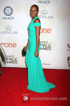 Tika Sumpter - The 46th NAACP Image Awards presented by TV One at the Pasadena Civic Center - Arrivals at...