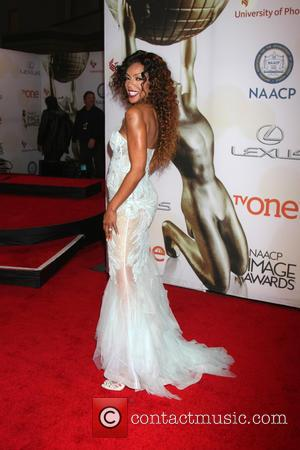 Wendy Raquel Robinson - The 46th NAACP Image Awards presented by TV One at the Pasadena Civic Center - Arrivals...