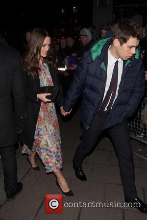 Keira Knightley and James Righton - Pre-BAFTA dinner at Annabelle's hosted by Charles Finch and Chanel - London, United Kingdom...
