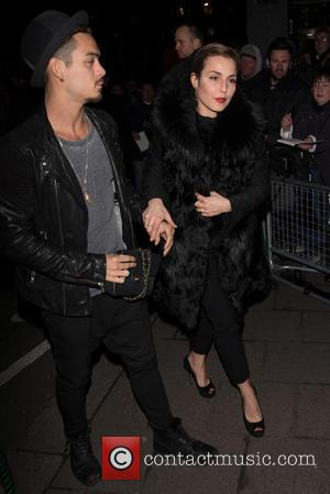 Noomi Rapace and Guest - Pre-BAFTA dinner at Annabelle's hosted by Charles Finch and Chanel - London, United Kingdom -...