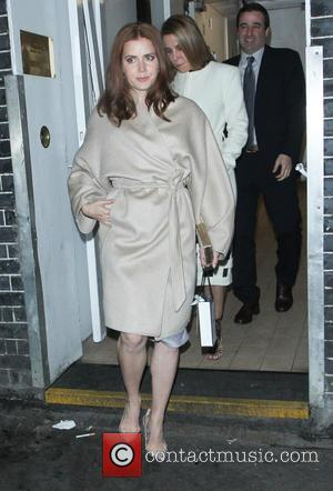 Amy Adams - Celebrities leave Annabel's private members club after attending a pre-BAFTA party - London, United Kingdom - Saturday...
