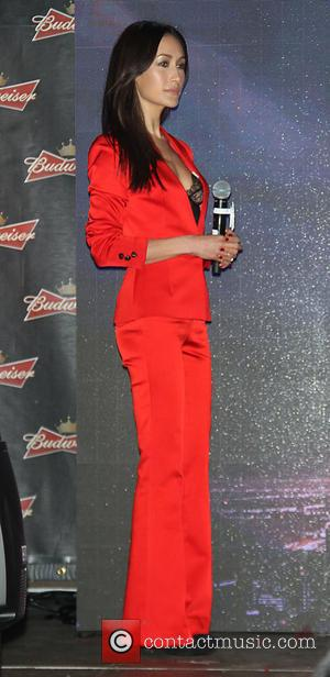Maggie Q - Budweiser toasts the Chinese New Year in Times Square at Chinese New Year, Times Square - New...