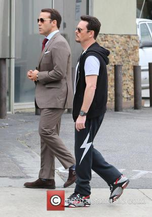 Kevin Dillon and Jeremy Piven - The new 'Entourage' movie is filmed in Hollywood - Los Angeles, California, United States...