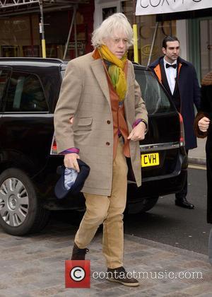 Sir Bob Geldof - Working Title pre-BAFTA VIP brunch at Chiltern Firehouse at Chiltern Firehouse - London, United Kingdom -...