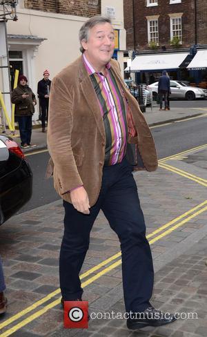 Stephen Fry - Working Title pre-BAFTA VIP brunch at Chiltern Firehouse at Chiltern Firehouse - London, United Kingdom - Saturday...