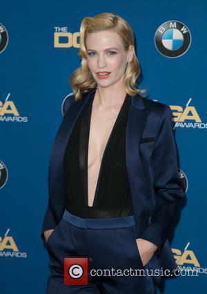 January Jones - Celebrities attend 67th Annual DGA Awards - Arrivals at the Hyatt Regency Century Plaza. at Hyatt Regency...