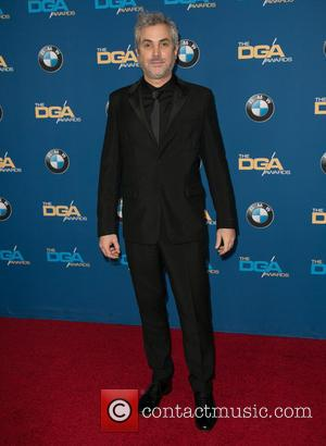 Alfonso Cuaron - A variety of stars were photographed as they arrived at the 67th Annual Directors Guild of America...