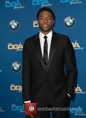 Chadwick Boseman - Celebrities attend 67th Annual DGA Awards - Arrivals at the Hyatt Regency Century Plaza. at Hyatt Regency...