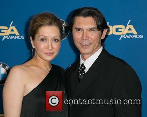Yvonne Boismier Phillips and Lou Diamond Phillips