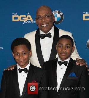 Paris Barclay and Guests - Celebrities attend 67th Annual DGA Awards - Arrivals at the Hyatt Regency Century Plaza. at...