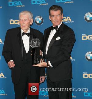 Robert Butler and Pierce Brosnan