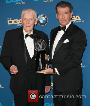 Robert Butler and Pierce Brosnan