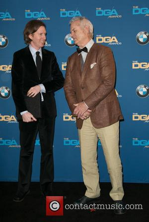 Wes Anderson and Bill Murray