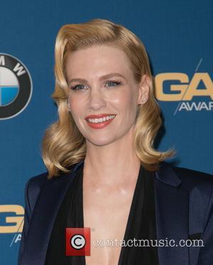 January Jones - Celebrities attend 67th Annual DGA Awards - Press Room at the Hyatt Regency Century Plaza. at Hyatt...