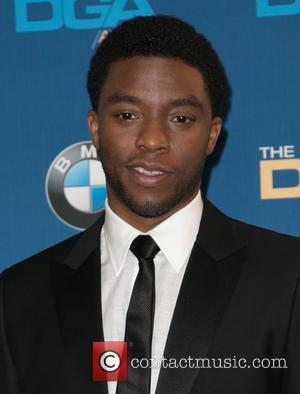 Chadwick Boseman - Celebrities attend 67th Annual DGA Awards - Press Room at the Hyatt Regency Century Plaza. at Hyatt...