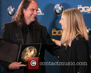 Glenn Weiss and Barbra Streisand