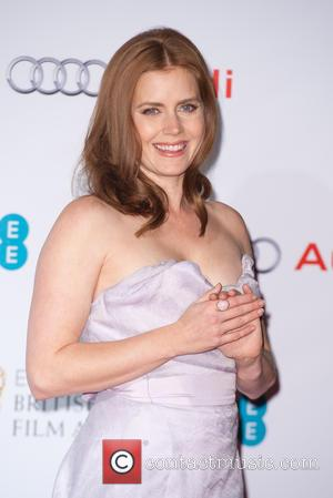 Amy Adams - EE British Academy Film Awards (BAFTA) Nominees Party at Kensington Palace - Arrivals at Kensington Palace, British...