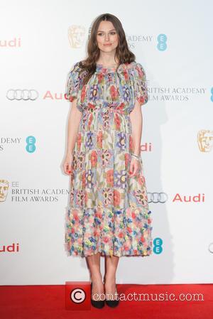 Keira Knightley - EE British Academy Film Awards (BAFTA) Nominees Party at Kensington Palace - Arrivals at Kensington Palace, British...