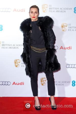 Noomi Rapace - EE British Academy Film Awards (BAFTA) Nominees Party at Kensington Palace - Arrivals at Kensington Palace, British...